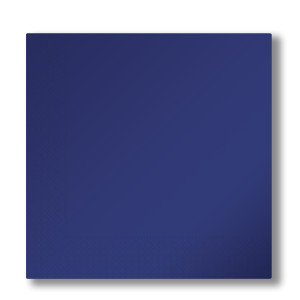 napkins 2-plies dark blue