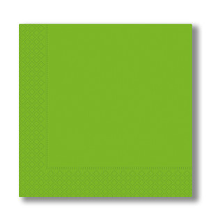 napkins 2-plies acid green