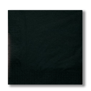 napkins 2-plies black